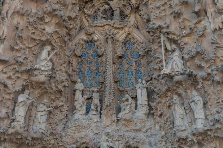 Außenstruktur der Sagrada Familia