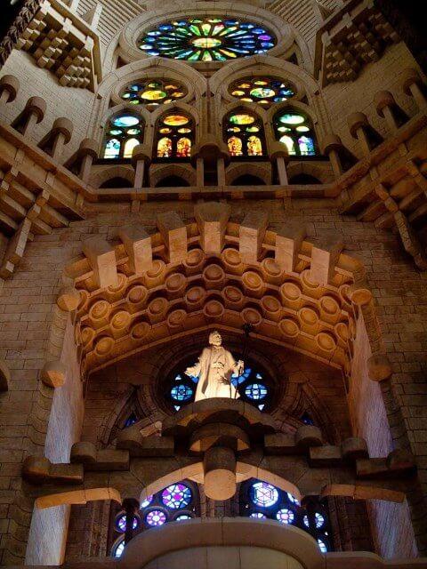 Innenstruktur Sagrada Familia